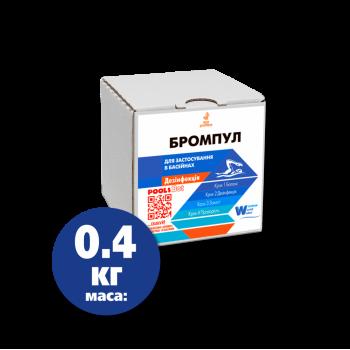 Бром 0.4 кг (Бромпул) таблетки 20 гр