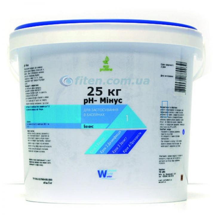 pH Минус25 кг Средство для понижения уровня рН