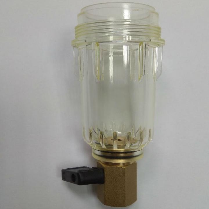 Honeywell KF06-1A прозрачная колба для фильтров FF06-3/4,FF06-1, FF06-1 1/4, FK06-1, FK06-1 1/4